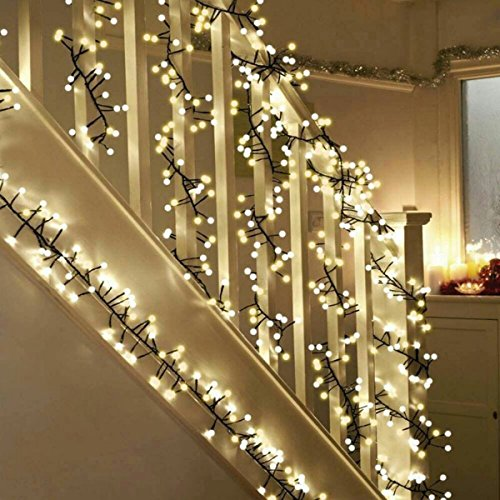 yming 98ft 400 led starry fairy light decorative indoor